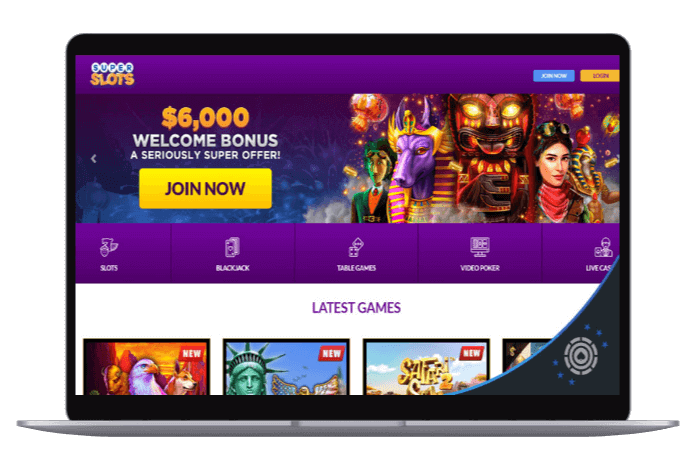 Superslots online casino review